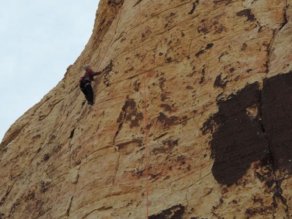 Gaby in Red Rocks