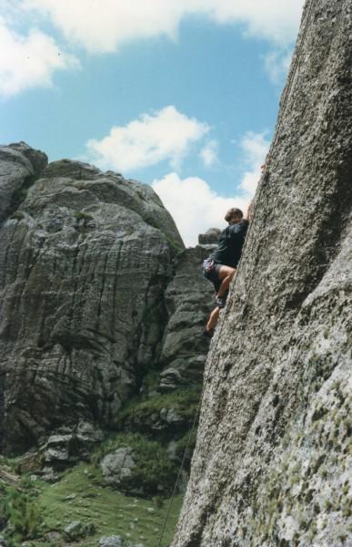 Climbing in Cordoba