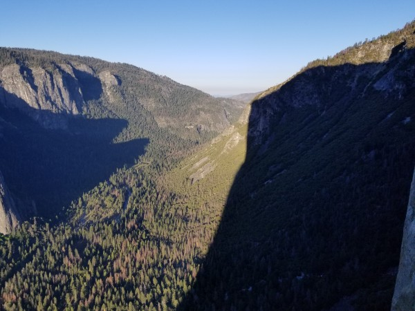 Morning Shadow of El Capitan.