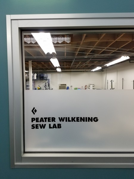 The Peater Wilkening Sew Lab at Black Diamond