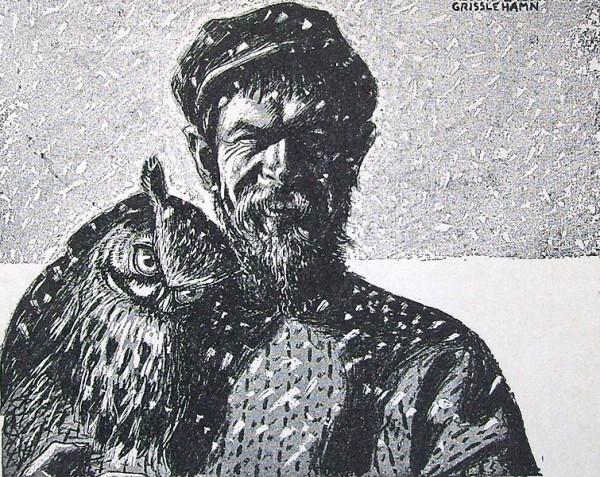 Albert Engstrom - self portrait 1917