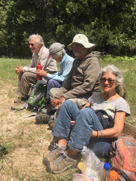 Dick and Judith Erb, Tom Kimbrough, Jude