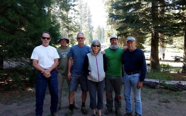 Left to Right: Ron Carson, Gary Anderson, Contractor, Mom, Mike and St...
