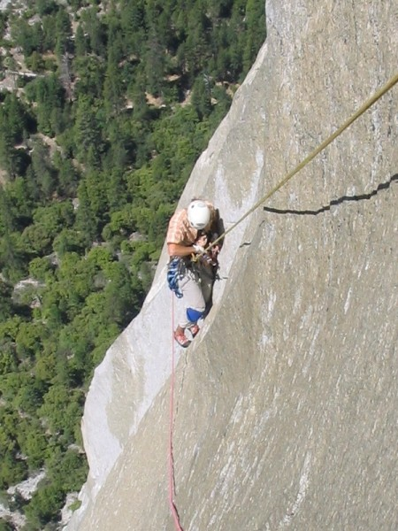Johan Hvenmark doing the King Swing as a tension traverse - view from ...