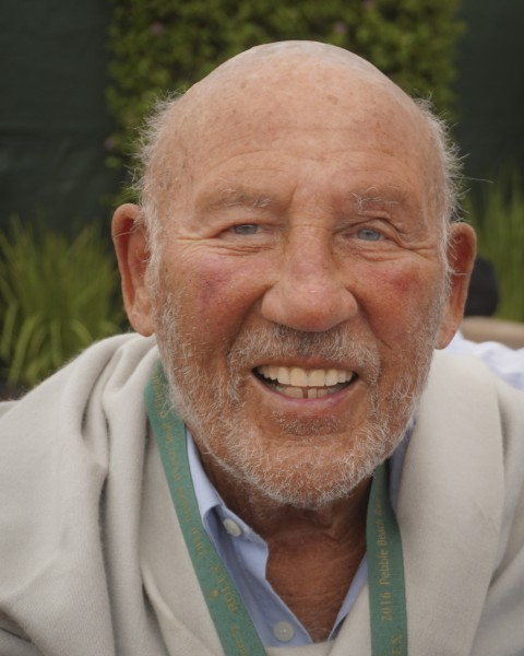 Sir Stirling Moss, August, 2016