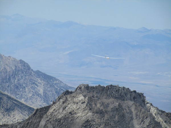 glider by Mt Keith