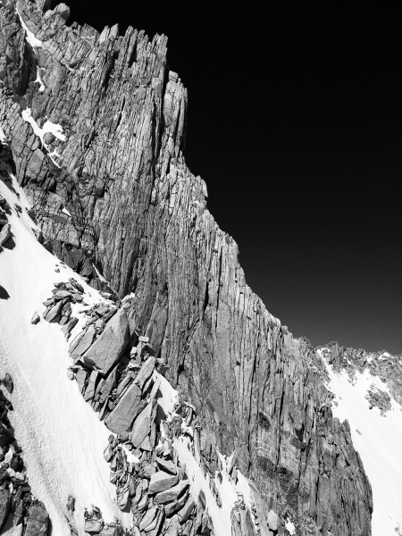 BCS' North Buttress as seen from the east.