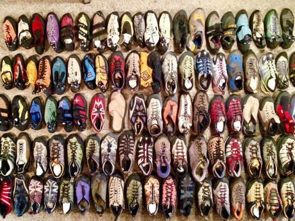 Five Ten shoe samples