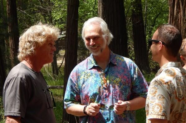 Vern Clevenger, Rick Linkert, and Nick Linkert