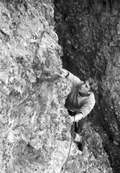 Jim at Pinnacles.