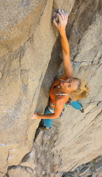 "Christie on pitch 3 of ""Gypsy in my soul"" 11a"