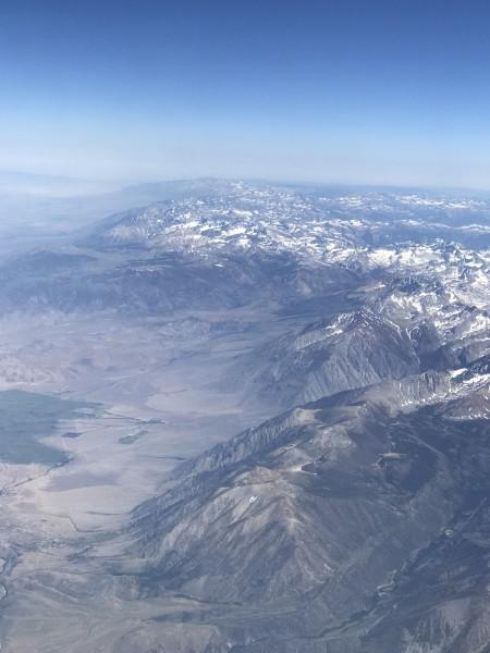 Somewhere over Ca