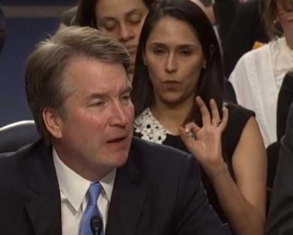 Brett Kavanaugh and Zina Bash <br/> Senate Confirmation Hearing