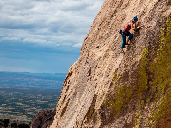 Cochise Stronghold, Stampede, 5.11-, 7 pitches, Sheepshead <br/>