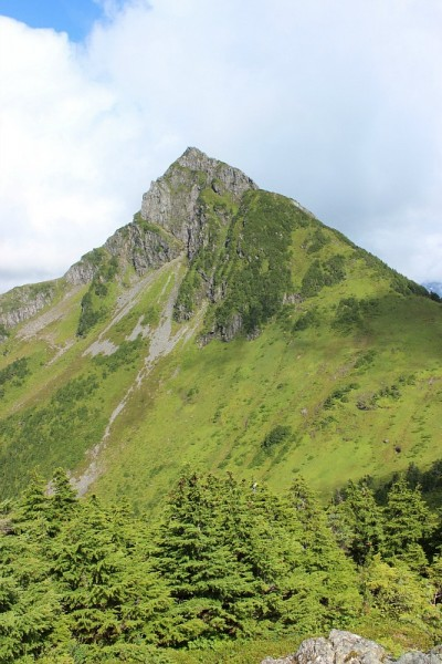Mount Verstovia West side - somewhere to the right of the steep face.
