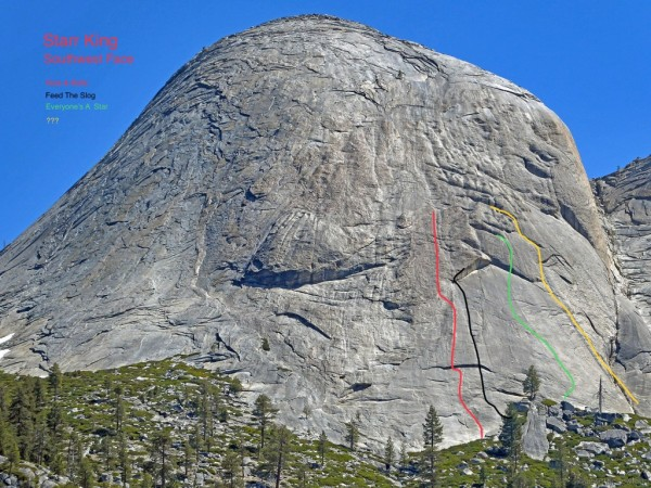 Starr King:  Nuts and Bolts, and newish routes