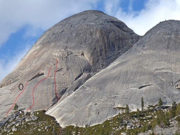 Starr King new routes and Starr Struck in progress