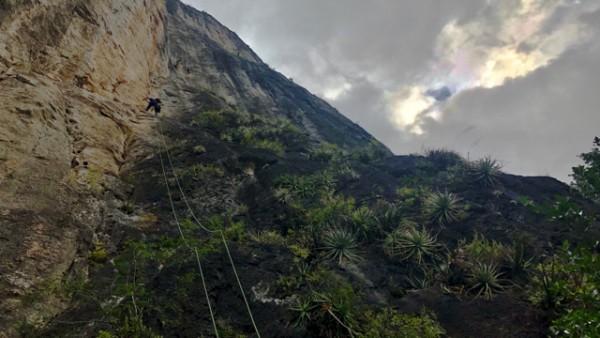 3.7 the last climb i did on this trip. it was an interesting climb cal...