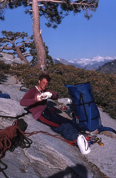 After summiting the Nose in '89?