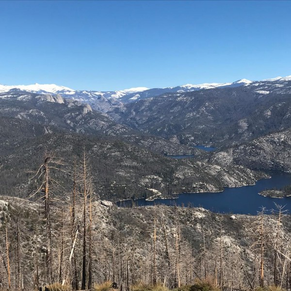 Southern Yosemite, was up at Mile High today, can get to Chiquito Dome...