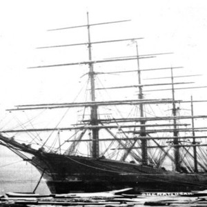 The civil war era warship, the C.S.S. Shenandoah