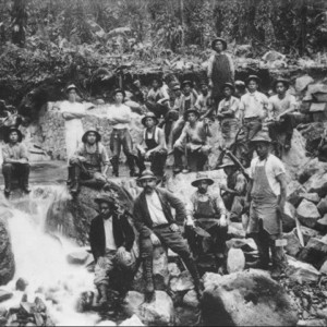 A few of the Japanese contract labourers who built the Kohala Ditch Tr...