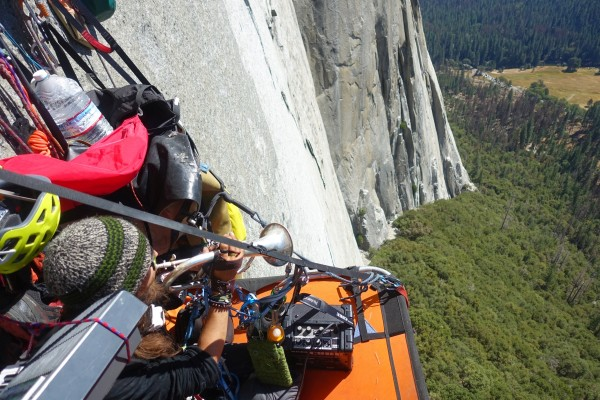 Big Wall Jazz Jam with Jacob Raab and PtPP on Second Ascent, Winds of ...