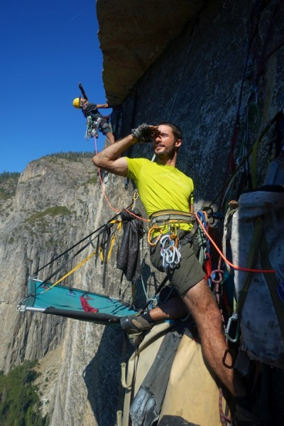 El Cap Salute with E. and Neil Chelton