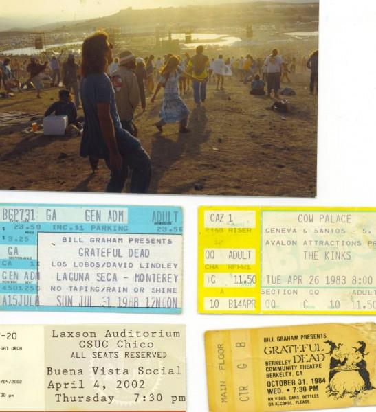 dancing to the Dead & Los Lobos..Ticket prices!