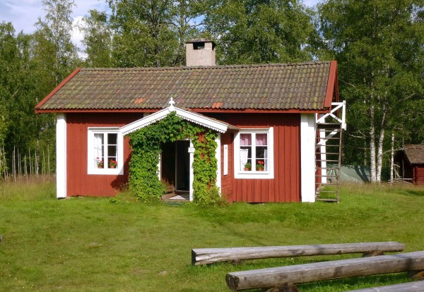 Luossa-stugan where Dan Andersson lived with his family 1912-1915.