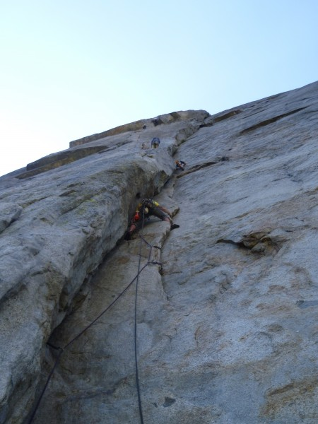 Me on pitch 1; straight forward fingers, hands, and fists.