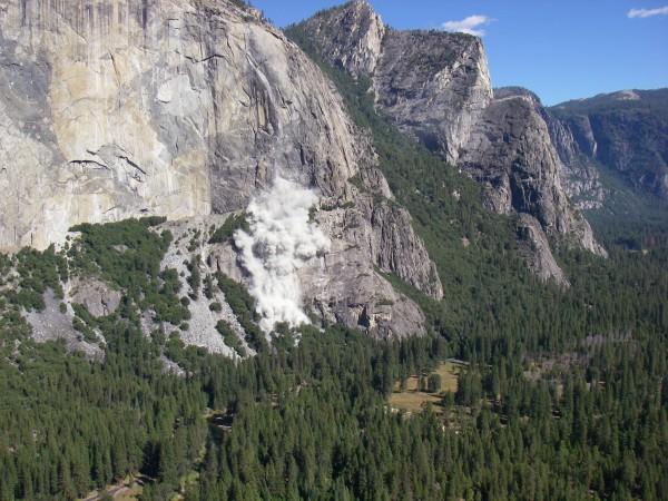 El Cap Rockfall