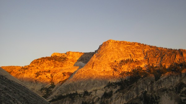 Tenaya Peak - Northwest Buttress - 10/9/10