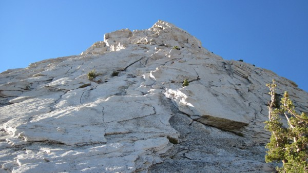 Cathedral Peak - Southeast Buttress was free of snow - descent was not...