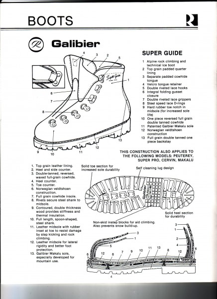 Opening boot section page from 1978 Robbins catalog