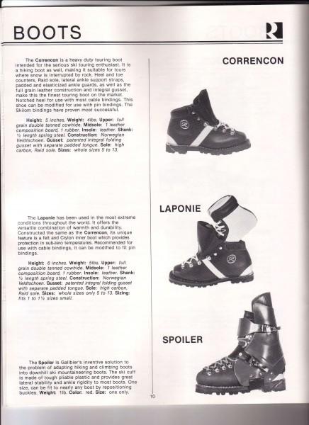 Galibier ski boots