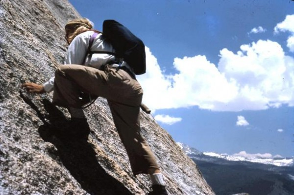 """Third class climbing"" on Mt. Starr King."