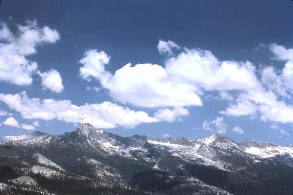 Look E. toward the Clark Range from Starr King's summit. Mt. Clark is ...