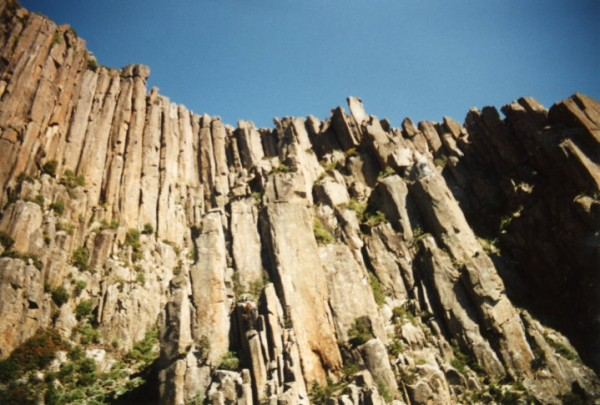 Organ Pipes, above Hobart