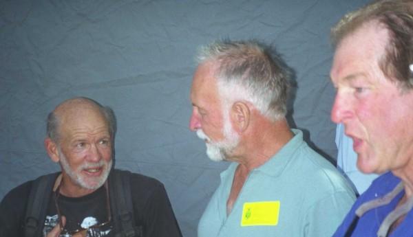 Chuck Pratt, Royal Robbins, Jeff Foott.