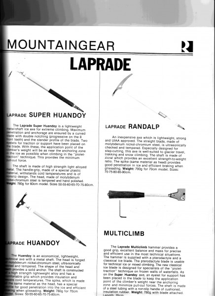 Laprade tools.  Expert metallurgists (car and bike parts) from the Pyr...