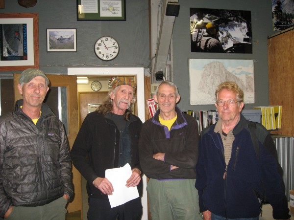 Werner, Bridwell, John Dill and Tom Cochran