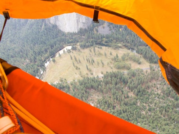 This is what a portaledge is for.