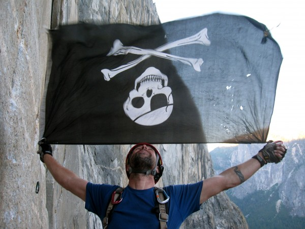 The El Cap Pirate. Photo by: Kait B.