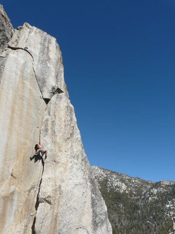 The fun part! Best crack route.