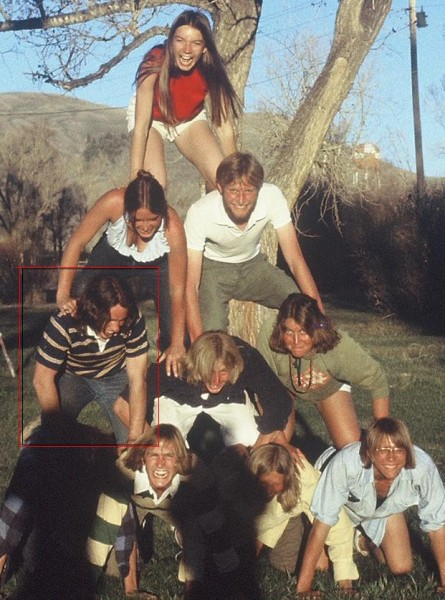 Gunnison climber's picnic, Spring 1976