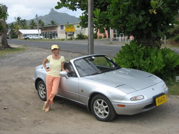 Jayna in Rarotonga