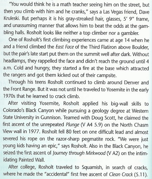 John Rosholt profile 1998, part 2/4
