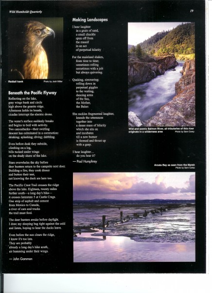 Two good poems from Wild Humboldt Magazine