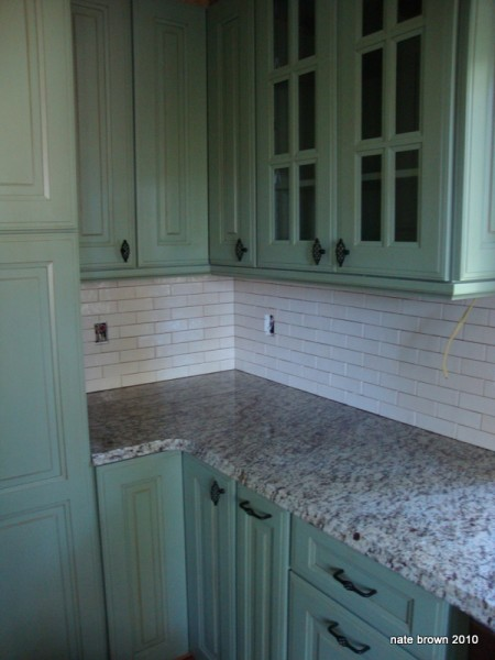 "Jim ""Jaimetown"" Olson's tile-handiwork in a kithchen we remodelled at ..."